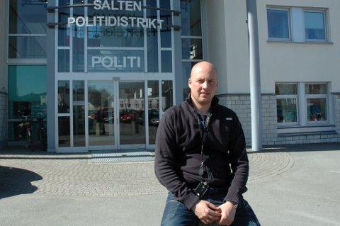 Robin Johnsen, lokallagsleder i Politiets fellesforbund, er skeptisk til sammenslåing mellom Salten og Helgeland politidistrikt.