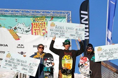Mikkel Bang gikk til topps i New Zealand.