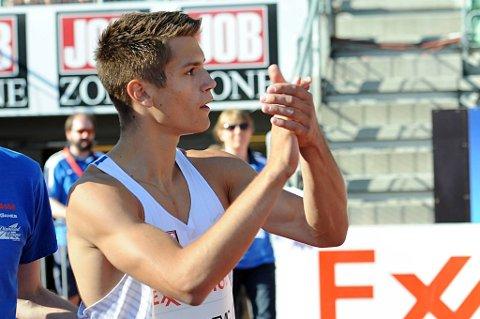 Vladimir Vukicevic løp inn til en svært sterk femteplass på 110 meter hekk i et stevne i Linz mandag kveld.