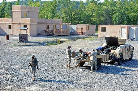 """Amerikanske soldater fotografert i Afghanistan, under """"Operation Enduring Freedom""""."""
