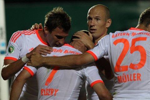 Arjen Robben og München satser på å ta tilbake hegmoniet i tysk bundesliga.
