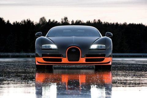 Hva med en Bugatti Veyron?