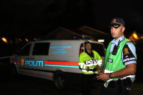 PÅGREP MANN: Politiet skaffet seg raskt kontroll både på offer og gjerningsmann. De føler seg trygge på at rett mann er arrestert, siktet for ugjerningen. FOTO: RUNE BERNHUS