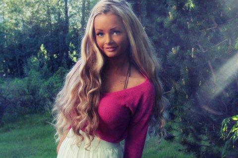 SUKSESSRIK: Sophie tror hennes utseende er en av grunnene til at hun er så populær.