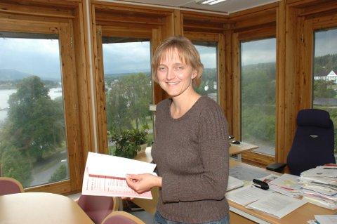 Rådmann Aud Norunn Strand har fått positivt svar på søknaden om å være pilotkommune.
