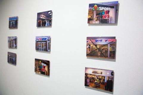 2a2b75c0 KRYSSET UT: Disse bildene hang i oktober 2012 på en korridorvegg hos  sportsgiganten XXL i