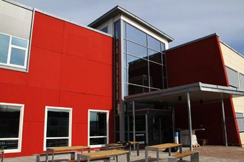 Seljestad ungdomsskole i Harstad.