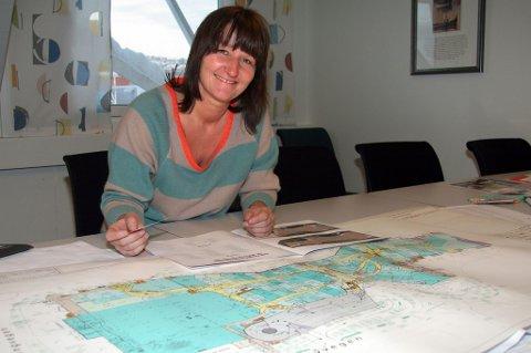 Kjøpesenterleder Laila Myrvang gleder seg til åpningen i neste uke.