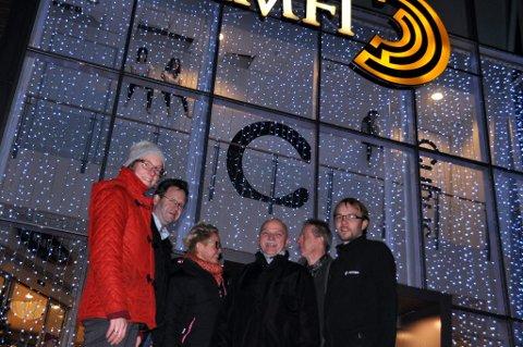 Kjersti Eline Tønnessen Busch, Thor Henriksen, Baard Nordby, Karolina Löf, Bjrøn Kenneth Hansen og Rune Sørensen