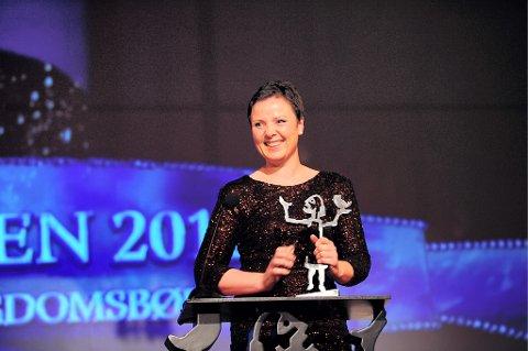 VANT: Linn T. Sunne vant Brageprisen 2012 i klassen åpen klasse, ungdomsbøker, med boken «Lille Ekorn».