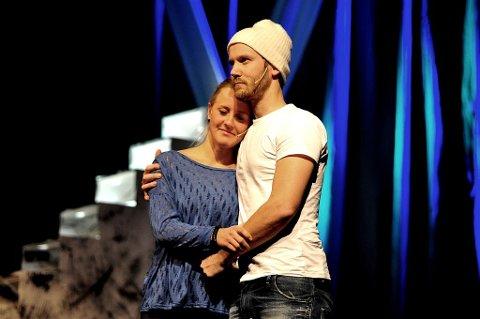 Karen Hansen Brandvold og Nils Golberg Mulvik spilte hovedrollene i Kreft for faen!