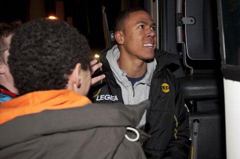 ETTERTRAKTET: Etter den gode avsluttningen på sesongen var Mathis Bolly en mann på flere klubbers ønskeliste. Til slutt ble det bundesligaklubben Fortuna Düsseldorf som kjøpte den lynraske kantspilleren. FOTO: SCANPIX