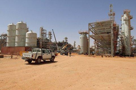 Statoils gassproduksjonsanlegg i In Aménas i Algerie (bildet) ble utsatt for et angrep onsdag morgen.