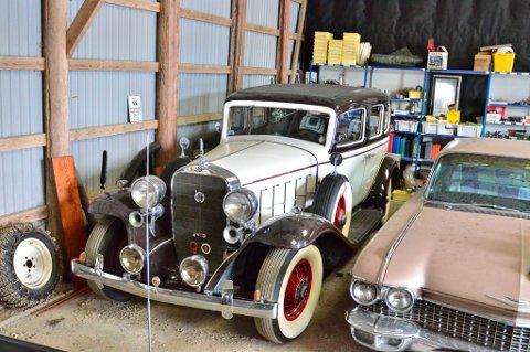 Denne Cadillac V12 1932 er eneste gjenværende i verden som ikke er restaurert. Bilen er altså 100 prosent original.