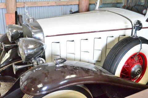 1932 Cadillac V12 - fortsatt original.