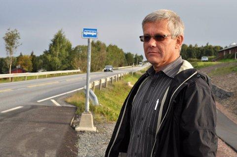 Harald Westby på Eina.