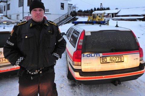 AVSLUTTET LETINGEN: ? Letingen etter de to som stakk av fra stedet, ble avsluttet søndag kveld, opplyser innsatsleder Arild Skarø.