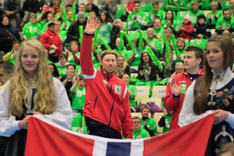 Børge Lund var i fjor på gjestevisitt i Bodø sammen med landslaget. Neste sesong er han spillende trener i BHK.