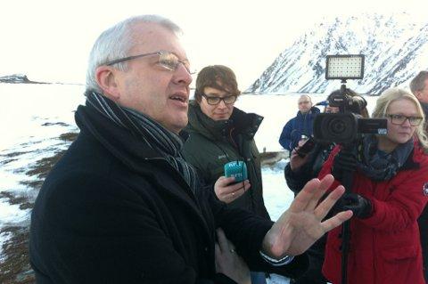 Øystein Michelsen, leder for Statoils virksomhet på norsk sokkel. Foto: Eirik Palm