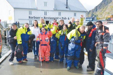 Berskerk-gjengen, Tangerudgjengen og Terje Bøe under innspilling.