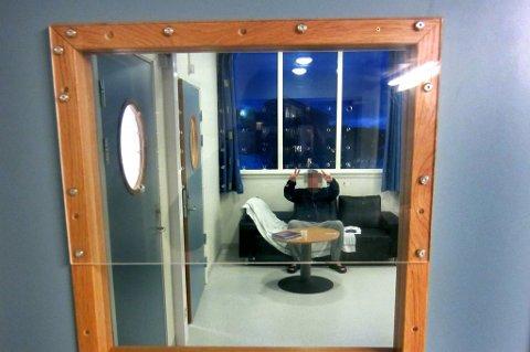 ROMMET: På dette rommet på Åsgård sykehus i Tromsø tilbringer 31-åringene dagene.