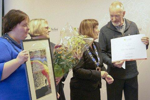 Mental Helse Nordland mottok prisen med ydmykhet og stolthet.