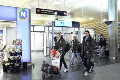 Mye ute: Det blir mangt et reisedøgn på spillerne i Larvik HK. Nå venter tur til Ungarn og Danmark de neste to helgene. (Arkivfoto)