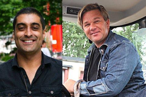 IKKE ENIGE: Tommy Sharif vil kjøpe dekkvirksomheten hvor Henning Solberg er medeier. Men Solberg vil ikke selge.