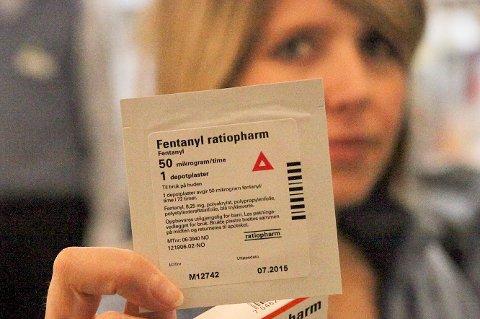 Fentanylplaster er at av de sterkeste legemidlene som finnes. Nylig døde en rusmisbruker, som skal ha benyttet plasteret.