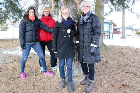 Ingeborg Dahl, Eir Kvernstuen, Anne Lise Hoel og Bjørg Nordanger er noen på teamet som starter det nye lavterskeltilbudet.