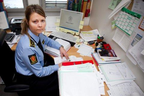 BRUDD PÅ BESØKSFORBUD: Det var politiadvokat Anne Siv Åvitsland som besluttet at den tiltalte moren skulle pågripes - kun halvannen uke før rettssaken begynner. FOTO: LISBETH ANDRESEN