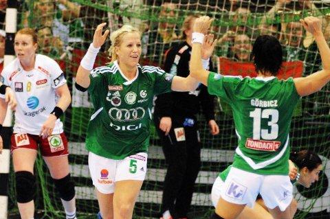 Heidi Løke og Györ skal tilbake til Larvik for å vinne mesterligaen.