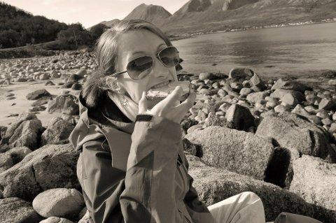 BLOGGER: Yvonne Jensen (26) fra Tromsø.