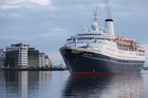 Bodø er en av cruisehavnene som spås en betydelig vekst i 2013.