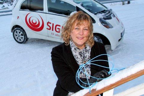 Salg- og markedssjef i Signal, Elisabeth Tindre, advarer mot svensker som tilsynelatende vil ha deg til å si opp et abonement du aldri har hatt.