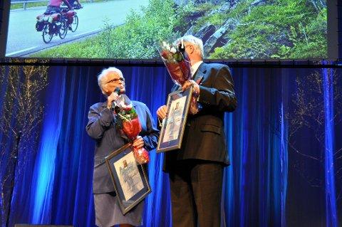 Siri Bjercke takker her for prisen.   Foto: Åshild Marita Håvelsrud