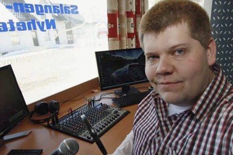 Salanger Nyheterredaktør Jon Henrik Larsen er åpen om diagnosen Autisme.