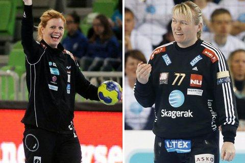 Tonje Larsen, til venstre, og Cecilie Leganger