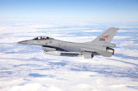 Norge deltar med seks F-16-fly under Arctic Fighter Meet.