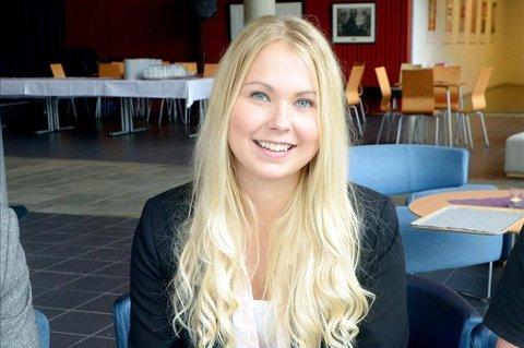 Ærlig: Leder Marit Henriette Mo Sandberg i Surnadal ungdomsråd mener den videregående skolen kan bli bedre.