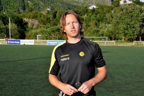 Stig Johansen mente FK Lofoten ville mest og vant fortjent mot Bodø/Glimt 2