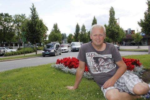 FORNØYD: Mart?n-generalen Odd Erland Dalen er fornøyd med helga.
