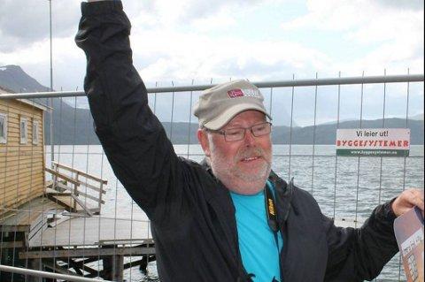 Leif Bjarne Andersen vant 100.000 kroner for å ha tatt idealtorsken.