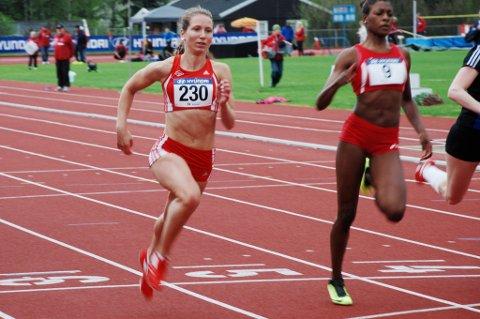 Astrid Cederkvist gjennomførte et imponerende 100-metersløp i U20-EM i friidrett torsdag ettermiddag.
