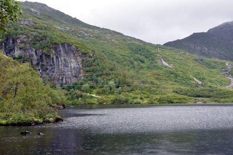Mandag rigger Thore Magnussen & Sønner seg til for å bygge vei til Kongstinden Alpinsenter