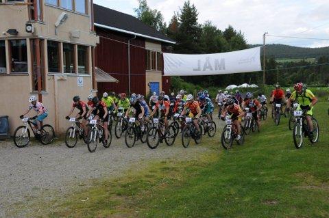 Rittdeltakere: I fjor stilte 40 deltakere til start i Egebergrittet. (Arkivfoto)