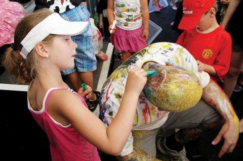 ROCK OG ART FOR KIDSA: RockArt for kids er tilbake etter ett års fravær. Arrangementet avvikles lørdag 27. juli på dagtid.