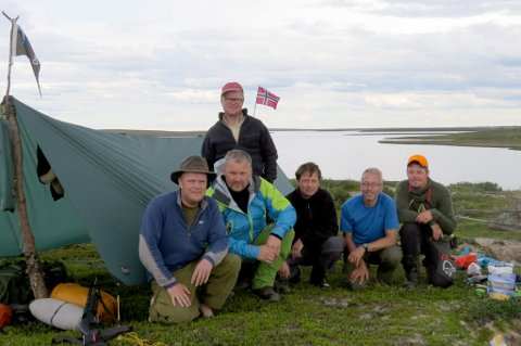 CAMPEN: I camp ved Whitefish Lake.