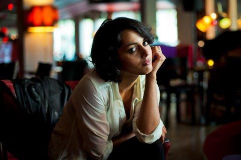 KINOKLAR:?Amrita Acharia (25) spiller sin første hovedrolle i en langfilmen «Jeg er din», som har premiere 16. august. Filmen har et budsjett på åtte millioner kroner og handler om en norsk-pakistansk alenemor.