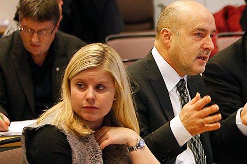 Anna Ljunggren (Ap) og Ivar Kristiansen (H) sitter på Nordlandsbenken i Stortinget.